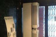 Воздушно-тепловая завеса на центральном входе