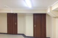 Вентиляционные короба в коридорах здания
