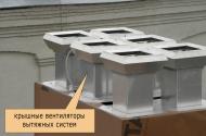 Крышные вентиляторы вытяжных систем