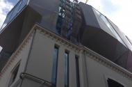 Левый флигель здания