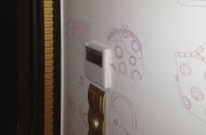 Настенный пульт управления канальным кондиционером Daikin