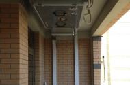 Приточная установка и внешние блоки кондиционеров Daikin на техническом этаже
